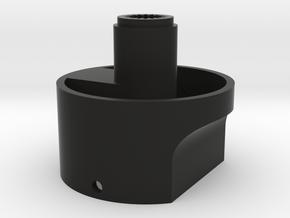 RoBoHoN neck part in Black Natural Versatile Plastic