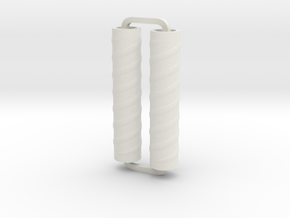 Slimline Pro spiral 04 ARTG in White Natural Versatile Plastic