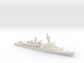 Descubierta-class corvette, 1/1800 in White Natural Versatile Plastic