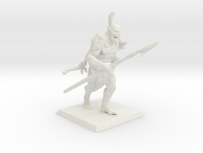 Orc Hunter in White Natural Versatile Plastic