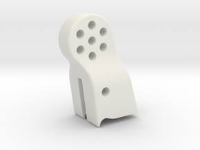XR10-upper-link-mount-V1 in White Natural Versatile Plastic