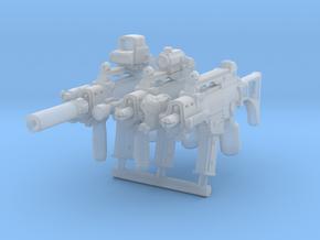 3x G36CLEGOCompatibleGrip in Smoothest Fine Detail Plastic