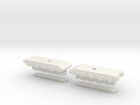 28cm l/40 bruno oo bogie  in White Natural Versatile Plastic