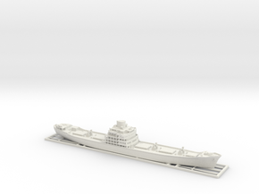 1:700 ship model bengkalis  ver.1 in White Natural Versatile Plastic