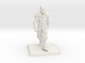 Clockwork Peasant in White Natural Versatile Plastic