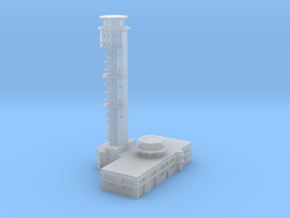 Pearl Harbor Ford Island Tower in Smooth Fine Detail Plastic: 1:700