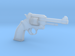 1:3 Miniature 22LR Revolver in Smooth Fine Detail Plastic