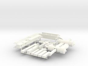 HEAVY CROSSBOW  in White Processed Versatile Plastic