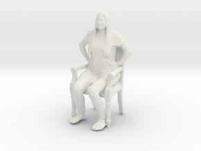 Printle C Femme 424 - 1/12 - wob in White Natural Versatile Plastic