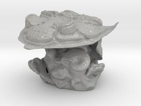 Trilobite -Huntonia Lingulifer with Ammonite stand in Aluminum