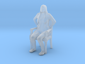 Printle C Femme 424 - 1/72 - wob in Smooth Fine Detail Plastic