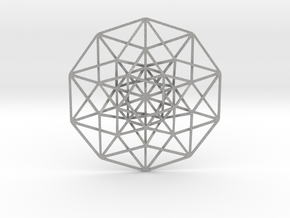 """5D Hypercube 2.75"""" in Aluminum"""