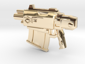 BoltPistol in 14K Yellow Gold