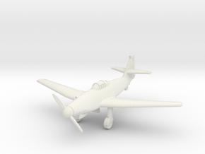 (1:144) Messerschmitt Me 262 V1 Stadien I in White Natural Versatile Plastic