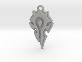 World Of Warcraft Horde Pendant all materials in Aluminum