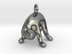 cat_015 in Polished Silver