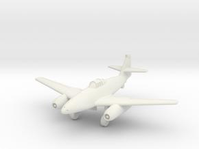 (1:144) Messerschmitt Me 262 V1 Stadien III in White Natural Versatile Plastic