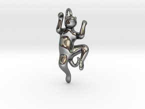 cat_016 in Polished Silver