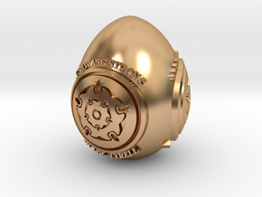 GOT House Tyrell Easter Egg in Polished Bronze