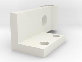 08.02.09.05.05 IFF Rear Hinge Rear in White Natural Versatile Plastic