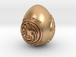 GOT House Targaryen Easter Egg in Natural Bronze