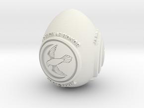 GOT House Arryn Easter Egg in White Natural Versatile Plastic