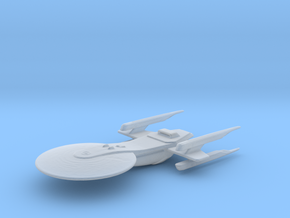Excelsior Class Study Model 2 in Smooth Fine Detail Plastic