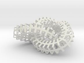 Knoop in White Natural Versatile Plastic