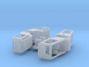 H0 1:87 Z-Kran Kabine in Smooth Fine Detail Plastic