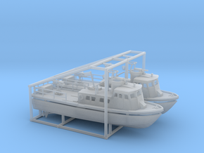 2 X 1/200 PCF Swift Boat in Smooth Fine Detail Plastic