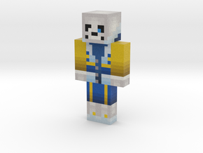 2019_04_11_outertale-sans-12918736 | Minecraft toy in Natural Full Color Sandstone