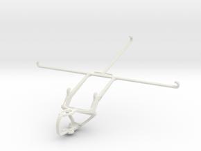 PS3 controller & Apple iPad Air (2019) in White Natural Versatile Plastic