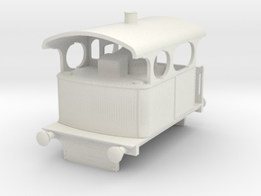 b-87-5-3-cockerill-type-IV-loco in White Natural Versatile Plastic