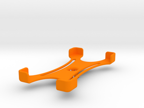 Platform (142 x 71 mm) in Orange Processed Versatile Plastic
