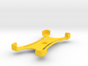 Platform (156 x 79 mm) in Yellow Processed Versatile Plastic