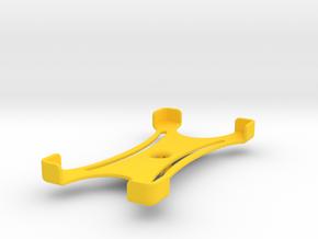 Platform (156 x 79 mm) in Yellow Processed Versatile Plastic