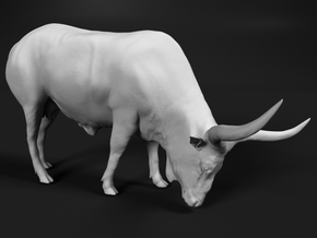Ankole-Watusi 1:160 Grazing Female in Smooth Fine Detail Plastic
