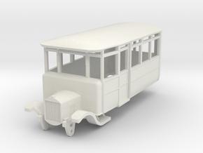 o-87-dv-5-3-ford-railcar in White Natural Versatile Plastic