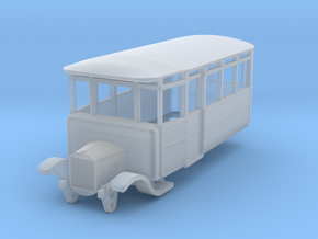 o-152fs-dv-5-3-ford-railcar in Smooth Fine Detail Plastic