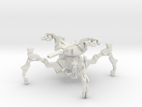 Aracnotron Mechanized Walker System in White Natural Versatile Plastic