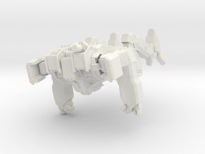 Arctic Wolf Mechanized Walker System in White Natural Versatile Plastic