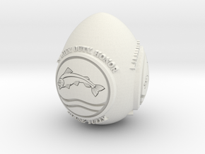 GOT House Tully Easter Egg in White Natural Versatile Plastic