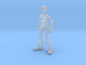 Shaggy Ultra Instinct 1/60 miniature for games rpg in Smooth Fine Detail Plastic