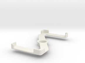 Platform (162 x 82 mm) in White Natural Versatile Plastic