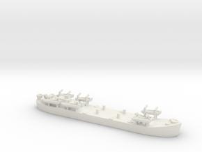 Landing Ship tank MK 2 LST 1/800  6 in White Natural Versatile Plastic