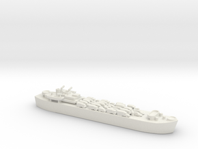 Landing Ship tank MK 3 LST 1/800 2  in White Natural Versatile Plastic