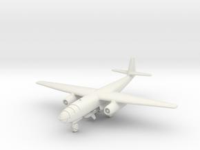 (1:144) Arado E 395 Single jet version + Fritz X in White Natural Versatile Plastic