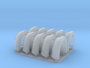 Charnel Guard Shoulderpads X10 in Smooth Fine Detail Plastic