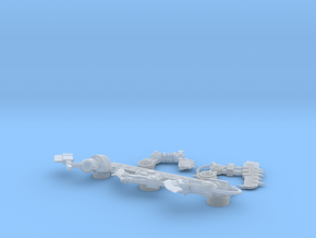 Space Orks Bionic Choppas Arms Left in Smooth Fine Detail Plastic