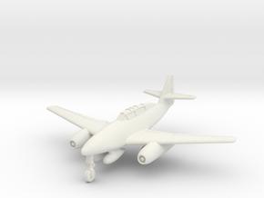 (1:144) Messerschmitt Me 262 Schulflugzeug in White Natural Versatile Plastic